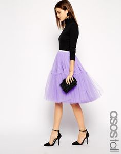 ASOS TALL Mesh TuTu Skirt