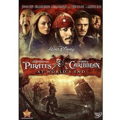 Pirates Of The Caribbean 3 - At World's End (DVD) / Actor: Johnny Depp / Actor: Keira Knightley / Actor: Orlando Bloom / Actor: Geoffrey Rush / Actor: Chow Yun-Fat / Director: Gore Verbinski ; All Movies, Action Movies, Great Movies, Movies To Watch, Movies Online, Disney Dvd, Film Disney, Disney Movies, Film D'action