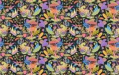 Jungles of Mexico - Wallpaper Tiles | designyourwall.com