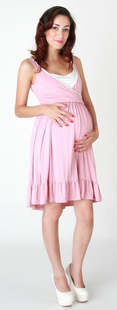 belle cute maternity and nursing baby shower dress