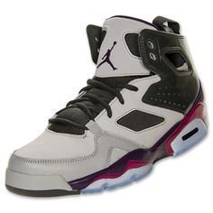 official photos 6942b 06559 Men s Jordan Flight Club 91 Basketball Shoes   FinishLine.com   Matte  Silver Grand