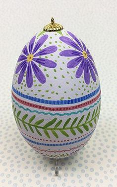 Eggs * Purple Daisy