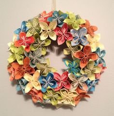 How to Make Beautiful Origami Kusudama Flowers | iCreativeIdeas.com Like Us on Facebook ==> https://www.facebook.com/icreativeideas