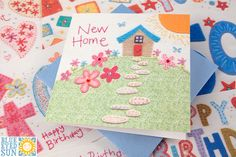 New Gorgeous New Home card from Blue Eyed Sun