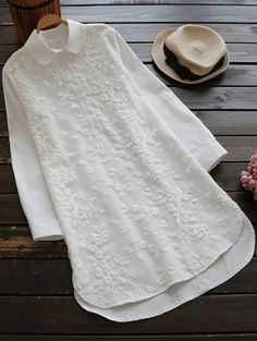SHARE & Get it FREE | Buttoned Embroidered BlouseFor Fashion Lovers only:80,000+ Items • New Arrivals Daily Join Zaful: Get YOUR $50 NOW!