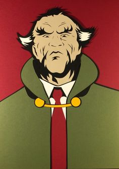 Ra's al Ghul Paper Cut-Out - DocGold13