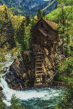 Crystal mill, CO by Chris Cramer