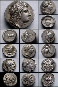 Gold And Silver Coins, Antique Coins, World Coins, Coin Jewelry, Coin Collecting, Precious Metals, Bronze, History, Antiques