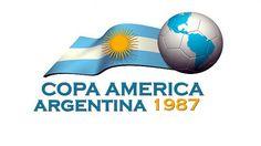 1987, Copa America Argentina #Argentina1987 #CopaAmerica #AmericaCup (L4556)