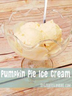 Pumpkin Pie Ice Crea