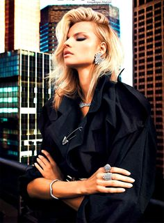 Magdalena Frackowiak by Txema Yeste for Vogue Paris February 2013