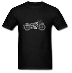 Hot Selling Simple1935 Vintage Motorcycle Mens T-shirts Unique Custom Biker T shirts Men. Style: CasualSleeve Length(cm): ShortCollar: O-NeckMaterial: CottonSleeve Style: short sleeveHooded: NoPattern Type: PrintFabric Type: BroadclothItem Type: TopsTops Type: TeesGender: MenModel Number: 1051MTWColor: 16 colorsSize: S --3XL Euro SIZEWeight: 180 GramsStyle: CasualCollar: O-NeckPrinted: ComputerMaterial: CottonIs customized: YesDIY: Welcome