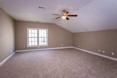 The third bedroom of the Hartford II floor plan by Ball Homes