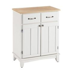 Home Styles Small Wood Server Kitchen Island - 5001-0023, Durable