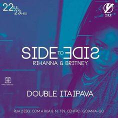 #VEJA Yes Bar e Pub: Side to Side #2 #agenda @paroutudo via ParouTudo http://ift.tt/29QIpIu #Raynniere #Makepeace