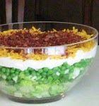 seven layer salad like Mom makes