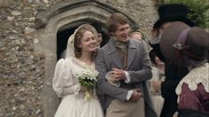 Sophie Hutton and Dr. Harrison (Cranford); it's ridiculous how adorable these two are. <3