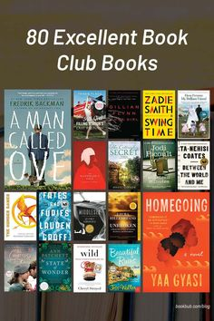 Featuring thought-provoking fiction, these book club books are sure to please your whole group! #books #bookclub #bookclubooks