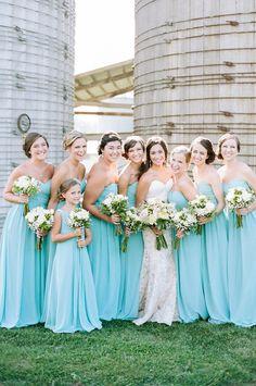 20 - Vestido de Madrinha - azul