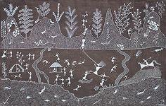 Rhythm and Ritual II - A collection of Warli paintings | SADASHIV MASHE