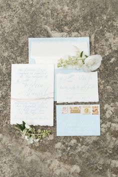 Pretty Blue & Barley Wedding Inspiration | Britt Taylor Photography | Mint & Lovely | Bridal Musings Wedding Blog