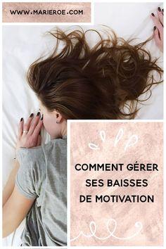 Tu es parfois démotivé ? En baisse d'énergie ? Et tu te demandes comment gérer ses baisses de motivation ? Dans cette vidéo je t'explique mes astuces