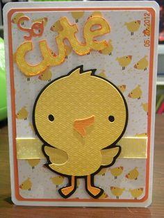 Cricut Card using Create a Critter