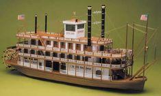 Ship Model Mantua - Mississippi - River Steamboat