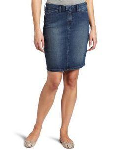 Levi's Women's Tailor Pencil Skirt, Vintage Dark, 10 Levi's. $34.97