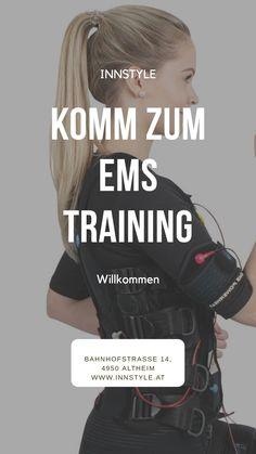 EMS TRAINING. InnStyle Kosmetikstudio Altheim. www.innstyle.at