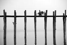 populyarnye turisticheskie fotografii 5 Мьянма. Мост.