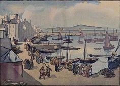 Jules Chadel 1924 port du Rosmeur Douarnenez