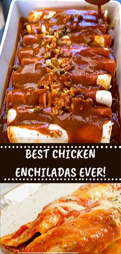 Our Favorite Healthy Chicken Enchilada Recipe On Your Favourite Meals. Famous Recipe Chicken, Best Chicken Enchilada Recipe, Healthy Chicken Enchiladas, Great Chicken Recipes, Chinese Chicken Recipes, Enchilada Recipes, Authentic Enchilada Recipe, Japanese Chicken, Authentic Mexican Recipes