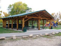 Pavilion Ideas Pictures | Pine River Picnic Pavilion | Cabin Ideas, Exteriors
