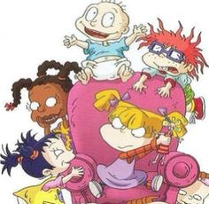 Rugrats.  ~this is a good example of different family dynamics.  You have a single dad who eventually married a single mom thus becoming a blended family, you have a business/ceo workaholic mom, and few marriages showcased with different personalities such as a dominant wife/passive husband, stay home mom/working dad, etc. -giani
