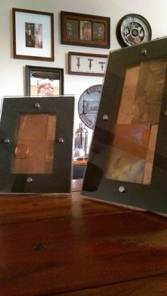 """these 5""""x 7"""" plexi shadow box's are a great accent to any room, just fill them up with any other item or items you prefer. we filled ours with copper shavings and scraps for a unique accent to our living room.  we are currently offering 5""""x 7"""". more sizes and colors to come! email us your thoughts.https://www.etsy.com/people/cliffordhetrick?ref=hdr"""