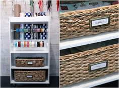 Organization eye candy that is functional and beautiful! Via I Heart Organizing. #homeorganization #homedecor