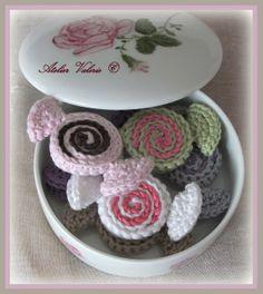 Valerie Atelier: Sweet candies    ☀CQ #amigurumi #crochet #crafts #DIY
