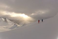 Our guide DR truly captured the peace and beauty of heli-skiing the backcountry in #smallgroups!