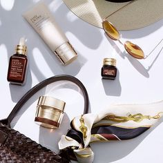 Our Fantastic Four for the skin today this week and always! What's your favourite @esteelauder product? Tell us below #AdvancedNightRepair #esteeThailand via VOGUE THAILAND MAGAZINE OFFICIAL INSTAGRAM - Fashion Campaigns Haute Couture Advertising Editorial Photography Magazine Cover Designs Supermodels Runway Models