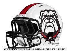 Charles Sollars Concepts @Charles Sollars @Charles Sollars http://www.charlessollarsconcepts.com/georgia-bulldogs-helmet-concepts/ #georgia #bulldogs #uga #nike nike pro combat