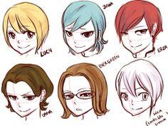 Short Hair FT Ladies
