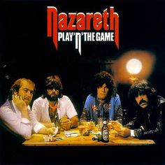 Nazareth, Play 'n' the Game*: Man, this band kinda went downhill really damn… Greatest Album Covers, Rock Album Covers, Music Album Covers, Music Albums, Vinyl Record Art, Vinyl Records, Rock And Roll Bands, Rock Bands, Nazareth Band
