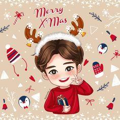 박보검 해피 크리스마스 161225 [ 출처 : Getnette  https://twitter.com/getnette_s/status/812710332611203072 ]