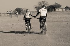 Teamwork is the name of the game in the Nedbank Tour de Tuli