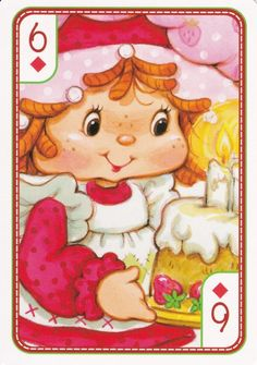 SSC Playing Cards - Best Deck - 18 Strawberry Shortcake Characters, Vintage Strawberry Shortcake, Vintage Toys 80s, My Melody Wallpaper, Cool Deck, Famous Cartoons, Rainbow Brite, 80s Kids, Sanrio Hello Kitty