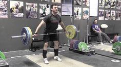 JERK, SQUAT, SNATCH, SNATCH PULL, HALTING SNATCH DEADLIFT, WITH COMMENTARY
