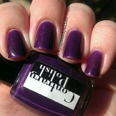 pupsandpolish @pupsandpolish Contrary Polish Darling Wildflower from May 2014's A Box, Indied #nailpolish