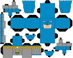 Cubee Craft Batman C