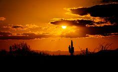Sunset Southwest Arizona